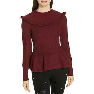 TED BAKER Wool Blend Sweater Size 5 = US 14